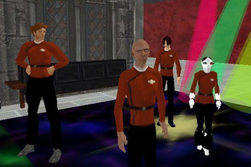 Star Trekking in Second Life, courtesy of Something Awful
